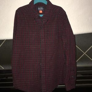 Used boys western button up.